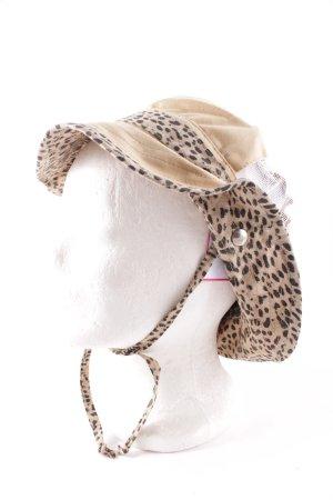 Roberto Cavalli Hat light brown-black leopard pattern street-fashion look