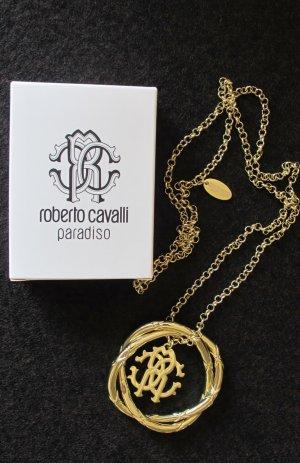 Roberto Cavalli Chaîne en or doré