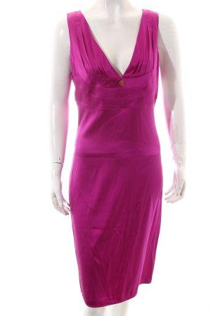 Roberto Cavalli Kleid violett Elegant
