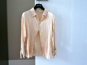 Roberto Cavalli Crash Blouse nude silk