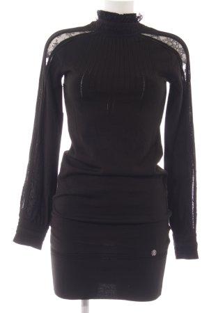 Roberto Cavalli Langarmkleid schwarz Elegant