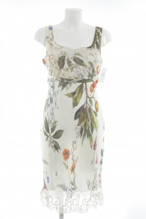 Roberto Cavalli Midi-jurk bloemen patroon elegant