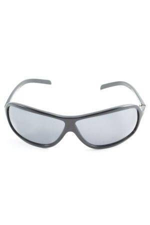 Roberto Cavalli Ovale zonnebril zwart casual uitstraling
