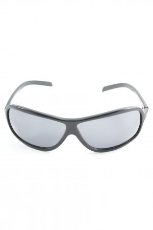 Roberto Cavalli ovale Sonnenbrille schwarz Casual-Look