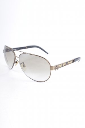 Roberto Cavalli Pilotenbril luipaardprint casual uitstraling
