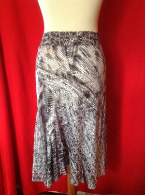 Roberto Cavalli Godet Skirt multicolored silk