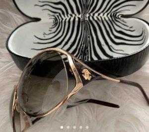 Roberto Cavalli Occhiale da sole rotondo oro