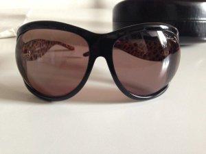 Roberto Cavalli Sonnenbrille Schwarz Leopoardenmuster