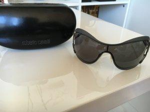 Roberto Cavalli Sonnenbrille schwarz mit Etui