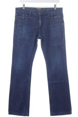 Roberto Cavalli Straight-Leg Jeans dunkelblau Casual-Look