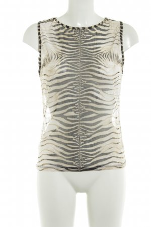 Roberto Cavalli Knitted Top beige-black street-fashion look