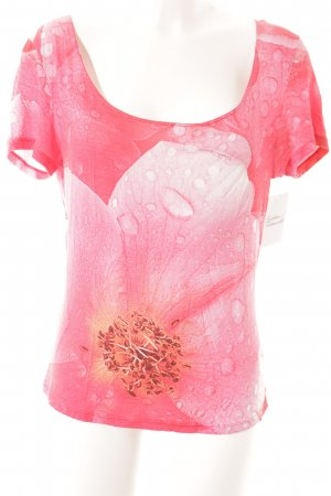 Roberto Cavalli T-Shirt florales Muster Casual-Look