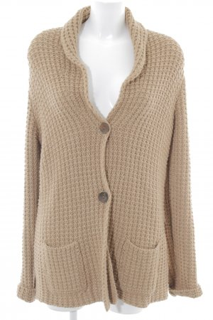 Roberto Collina Strickjacke beige Casual-Look