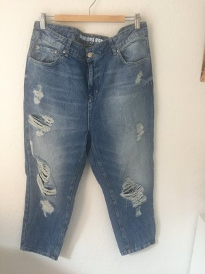 Rocawear Brooklyns Finest Boyfriend Jeans Destroyed