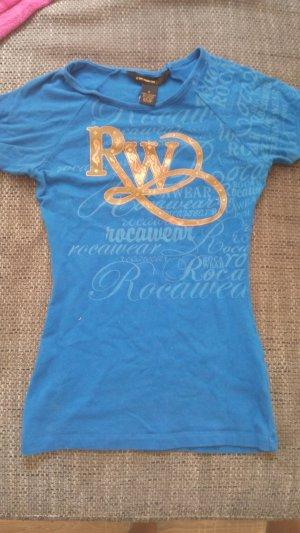 Rocawear Camisa azul aciano