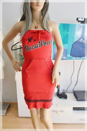 Rocawear sweat kleid rot XS rockabilly