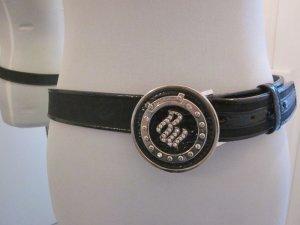 Roccawear Gürtel schwarz mit Strass Gr S-M 100