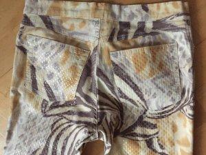Rocco Barocco Pantalón de cinco bolsillos multicolor Algodón