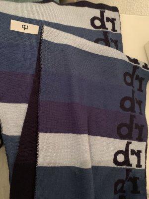 Rocco Barocco Sciarpa lavorata a maglia multicolore