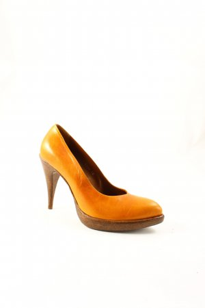 Rocco P. High Heels cognac-braun Urban-Look