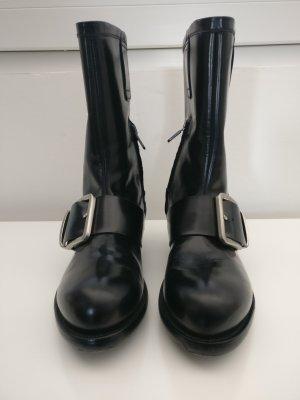 Rocco P. Korte laarzen zwart