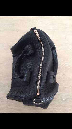 Alexander Wang Sac à main noir-or rose