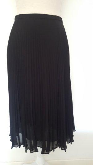 ae elegance Jupe plissée noir