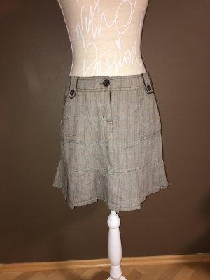NKD Cargo Skirt grey brown-baby blue