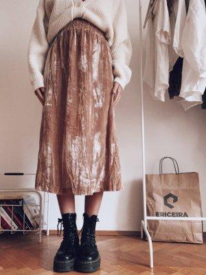 H&M Midi Skirt nude