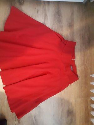 Orsay Falda de talle alto rojo