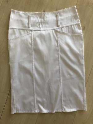 Pencil Skirt white