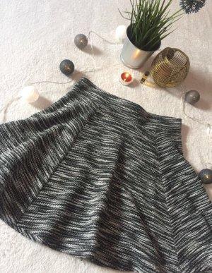 FB Sister Jupe tricotée blanc-noir