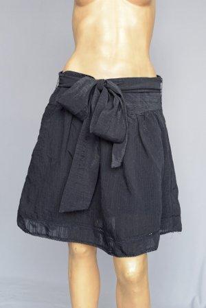 Amisu Falda midi negro