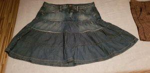 Sisley Denim Skirt dark blue