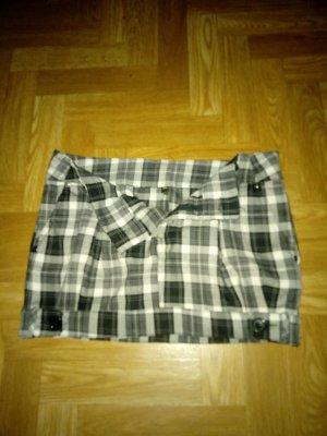 Minifalda multicolor Poliéster