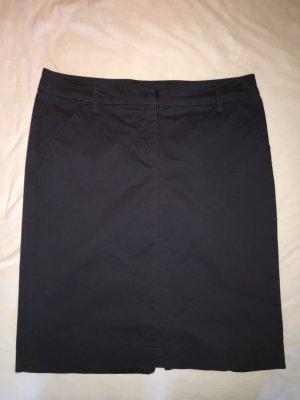 Benetton Falda de tubo azul oscuro