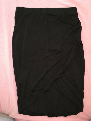Falda stretch negro