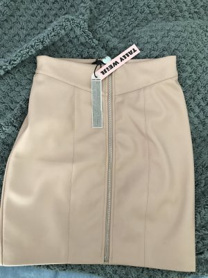 Leather Skirt rose-gold-coloured