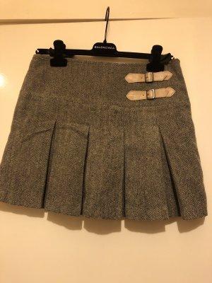 Wool Skirt light brown-brown