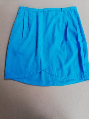 H&M Wraparound Skirt neon blue