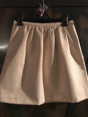 Benetton Balloon Skirt gold-colored-cream