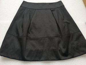 Hallhuber Ballonrok zwart