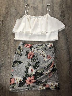 Zara Wraparound Skirt multicolored