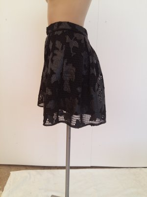 Romeo & Juliet Couture Lace Skirt black