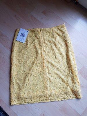 Alba Moda Mini rok geel