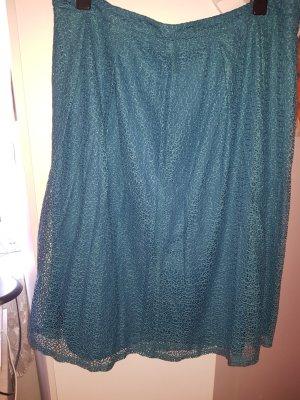 C&A Knitted Skirt petrol-cadet blue