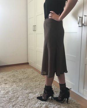 Biaggini Midi Skirt khaki-ocher