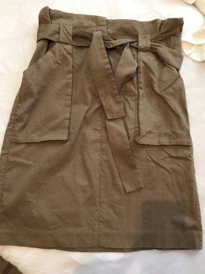 H&M Cargo Skirt ocher