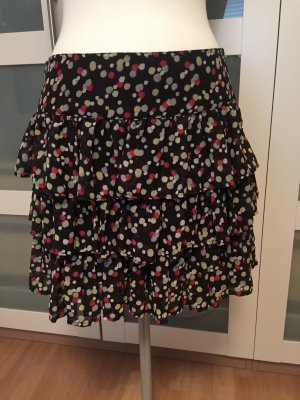 3 Suisses Silk Skirt multicolored