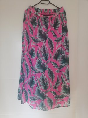 Orsay Maxi Skirt pink-lime-green
